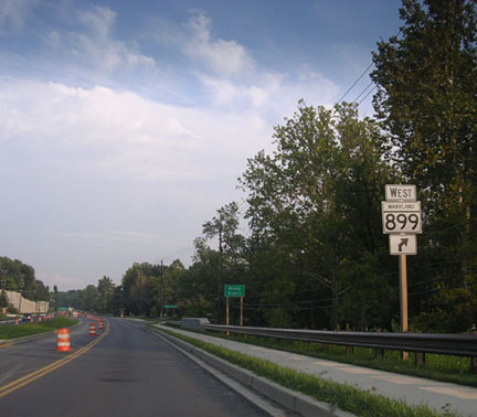 MD 899 Sign